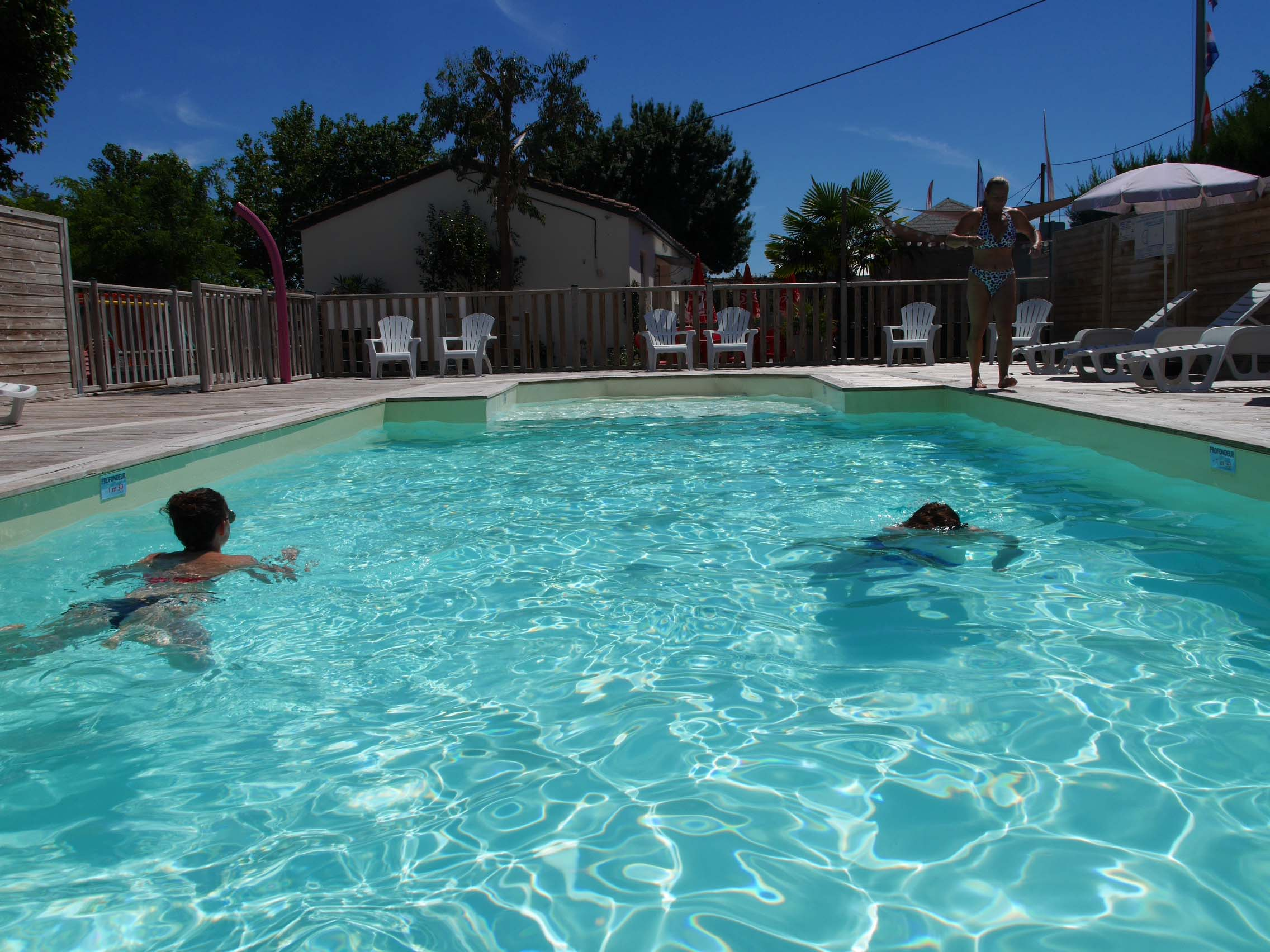 Campsite With Heated Swimming Pool